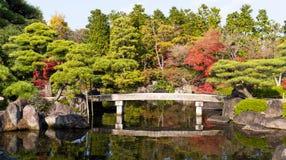 Κήπος φθινοπώρου στην Ιαπωνία Στοκ φωτογραφίες με δικαίωμα ελεύθερης χρήσης