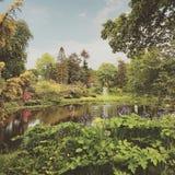 Κήπος χώρας Τσέσαϊρ Στοκ φωτογραφία με δικαίωμα ελεύθερης χρήσης