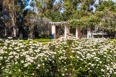 Κήπος Alcazar στο πάρκο BALBOA Στοκ Εικόνες