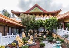 Κήπος Arhat του βουδιστικού ναού Lai του, Καλιφόρνια Στοκ φωτογραφία με δικαίωμα ελεύθερης χρήσης