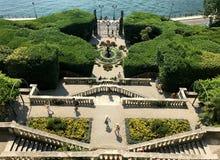 Κήπος Carlotta βιλών Στοκ Εικόνα
