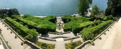 Κήπος Carlotta βιλών Στοκ Εικόνες