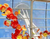 Κήπος Chihuly και μουσείο γυαλιού, Σιάτλ Στοκ εικόνα με δικαίωμα ελεύθερης χρήσης