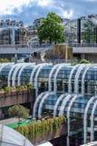 Κήπος Halles Les στο Παρίσι Στοκ φωτογραφίες με δικαίωμα ελεύθερης χρήσης