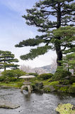 Κήπος Kenrokuen Στοκ Φωτογραφία