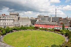 Κήπος Linn Dubh, Δουβλίνο Castle, Δουβλίνο, Ιρλανδία Στοκ εικόνα με δικαίωμα ελεύθερης χρήσης