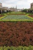 Κήπος Mont des Arts Στοκ φωτογραφία με δικαίωμα ελεύθερης χρήσης