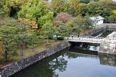 Κήπος Ninomaru στο Κιότο Στοκ Φωτογραφία