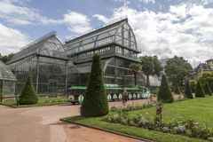 Κήπος tete δ ή Parc de Λα Tete δ ` ή στη Λυών, Γαλλία κήπος που ονομάζεται από το χρυσό κεφάλι για το tresor Πάρκο του χρυσού κεφ στοκ φωτογραφίες με δικαίωμα ελεύθερης χρήσης