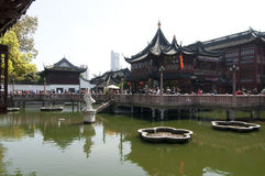 Κήπος Yuyan, Σαγκάη, Κίνα Στοκ φωτογραφία με δικαίωμα ελεύθερης χρήσης