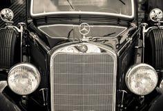 Κίεβο, Ουκρανία 16 Ιουλίου 2016: Η εκλεκτής ποιότητας Mercedes Στοκ Εικόνες
