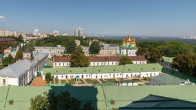 Κίεβο, Ουκρανία, πανοραμική άποψη πόλεων Στοκ φωτογραφία με δικαίωμα ελεύθερης χρήσης