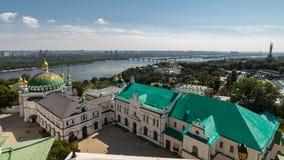 Κίεβο, Ουκρανία, πανοραμική άποψη πόλεων Στοκ εικόνες με δικαίωμα ελεύθερης χρήσης