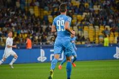 Κίεβο, ΟΥΚΡΑΝΙΑ - 13 Σεπτεμβρίου 2016: Arkadiusz Milik κατά τη διάρκεια του UEFA CH Στοκ φωτογραφίες με δικαίωμα ελεύθερης χρήσης