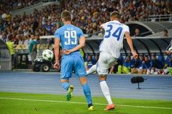 Κίεβο, ΟΥΚΡΑΝΙΑ - 13 Σεπτεμβρίου 2016: Arkadiusz Milik κατά τη διάρκεια του UEFA CH Στοκ φωτογραφία με δικαίωμα ελεύθερης χρήσης