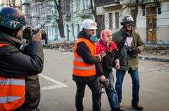 Κίεβο στις 19 Φεβρουαρίου 2014 Στοκ εικόνες με δικαίωμα ελεύθερης χρήσης