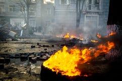 Κίεβο στις 19 Φεβρουαρίου 2014 Στοκ Εικόνες