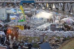 Κίεβο στις 19 Φεβρουαρίου 2014 Στοκ εικόνα με δικαίωμα ελεύθερης χρήσης