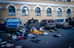 Κίεβο στις 19 Φεβρουαρίου 2014 Στοκ φωτογραφίες με δικαίωμα ελεύθερης χρήσης