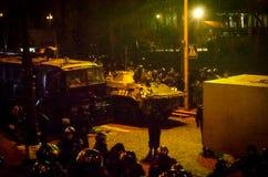 Κίεβο στις 19 Φεβρουαρίου 2014 Στοκ Φωτογραφίες