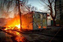 Κίεβο στις 19 Φεβρουαρίου 2014 Στοκ Φωτογραφία