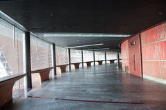 Κίνα Ασία, Πεκίνο, το εθνικό μεγάλο θέατρο, κυκλικός διάδρομος στοκ φωτογραφία με δικαίωμα ελεύθερης χρήσης