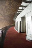 Κίνα Ασία, Πεκίνο, το εθνικό μεγάλο θέατρο, κυκλικός διάδρομος στοκ φωτογραφίες