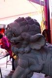 Κίνα, θρησκεία, λιοντάρι πετρών, λιοντάρι πετρών στοκ φωτογραφίες με δικαίωμα ελεύθερης χρήσης