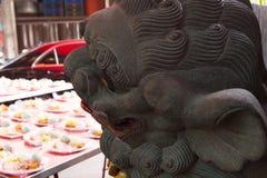Κίνα, θρησκεία, λιοντάρι πετρών, λιοντάρι πετρών στοκ φωτογραφία με δικαίωμα ελεύθερης χρήσης