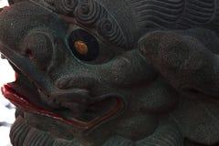 Κίνα, θρησκεία, λιοντάρι πετρών, λιοντάρι πετρών στοκ εικόνα με δικαίωμα ελεύθερης χρήσης