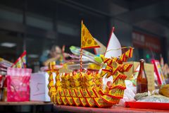 Κίνα, παραδοσιακή θρησκεία, τελωνείο, Zhongyuan Purdue, κινεζικό φεστιβάλ φαντασμάτων, οπαδοί, θυμίαμα καψίματος, ευλογία στοκ εικόνες