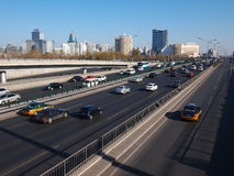 Κίνα Πεκίνο αστικό, ορίζοντας Στοκ εικόνες με δικαίωμα ελεύθερης χρήσης