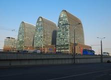 Κίνα Πεκίνο αστικό, ορίζοντας Στοκ φωτογραφία με δικαίωμα ελεύθερης χρήσης