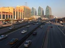 Κίνα Πεκίνο αστικό, ορίζοντας Στοκ εικόνα με δικαίωμα ελεύθερης χρήσης