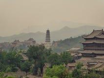 Κίνα - ρύπανση στον αέρα στοκ εικόνες