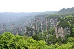 Κίνα Hunan Zhangjiajie Στοκ φωτογραφίες με δικαίωμα ελεύθερης χρήσης