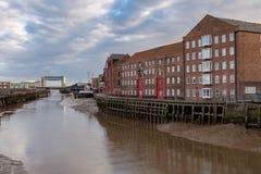 Κίνγκστον επάνω στο Hull, UK Στοκ φωτογραφία με δικαίωμα ελεύθερης χρήσης