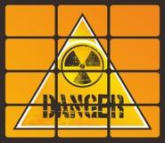 Κίνδυνος πυρηνικός Στοκ Εικόνα