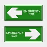 Κίνδυνος πυρκαγιάς Διαδρομή του διανυσματικού εικονιδίου εκκένωσης Το ico εκκένωσης διανυσματική απεικόνιση