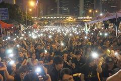 Κίνημα ομπρελών στο Χονγκ Κονγκ Στοκ εικόνα με δικαίωμα ελεύθερης χρήσης