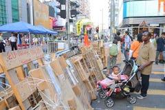 Κίνημα ομπρελών στο Χονγκ Κονγκ Στοκ εικόνες με δικαίωμα ελεύθερης χρήσης