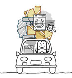 κίνηση ατόμων αυτοκινήτων