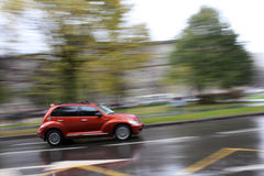 κίνηση αυτοκινήτων Στοκ φωτογραφίες με δικαίωμα ελεύθερης χρήσης