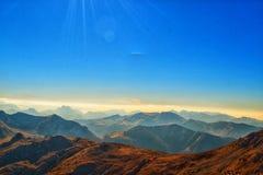 Κίνηση βουνών στοκ εικόνες με δικαίωμα ελεύθερης χρήσης
