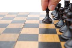 Κίνηση ενός σκακιού Στοκ Εικόνες