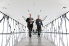 κίνηση επιχειρηματιών Στοκ Εικόνα