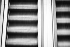 κίνηση κυλιόμενων σκαλών Στοκ Φωτογραφίες