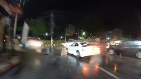 Κίνηση μέσω Pattaya απόθεμα βίντεο