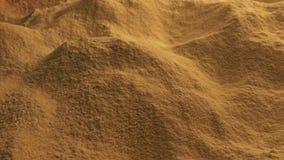 Κίνηση πέρα από τη σκόνη καρυκευμάτων απόθεμα βίντεο