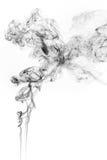 Κίνηση παγώματος του καπνού στοκ φωτογραφίες
